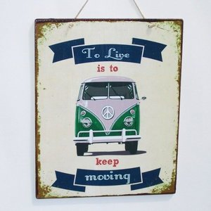 VW Campervan to live is to keep moving
