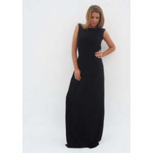 """Tinky"" Black maxi dress"