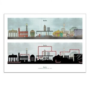 """Berliner ensemble"" art print"