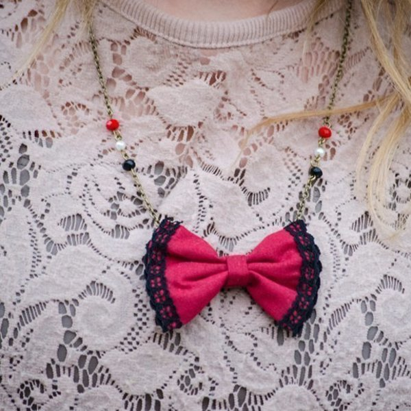 All you need is Red Necklace