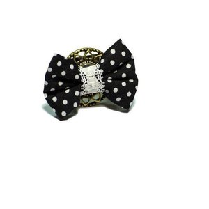 polka dots smile ring