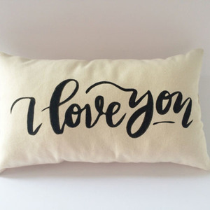 "I love you pillow, μαξιλάρι ""σε αγαπώ"" quote"