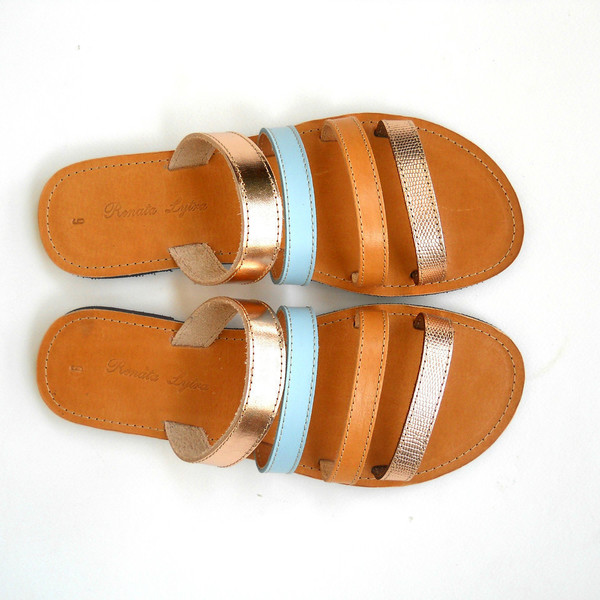 WaterColour Sandals