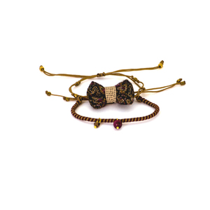 Bow Bracelets Set Persian