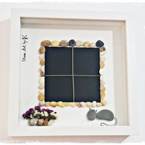 "NEW!!! Κάδρο Stone Art ""...Window to the sea..."""