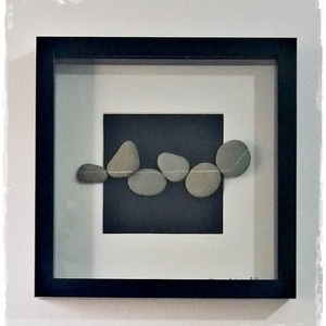 "NEW!!! Κάδρο Stone Art ""...Wishing Rocks"""