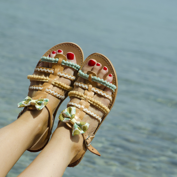 Pineapple Sandals Σετ Mother & Daughter (Ειδική Τιμή)