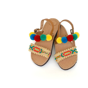 Bird of Paradise Baby Sandals