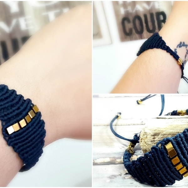 Unique macrame bracelet