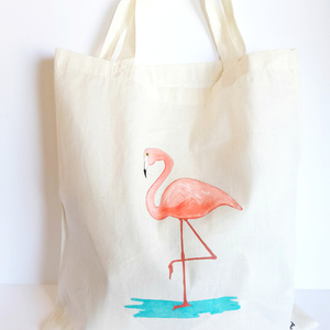 Tote Bag Flamingo!