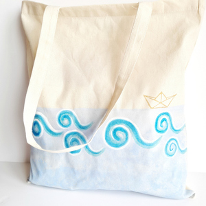 ''Kymata'' Beach Bag | Tote Bag