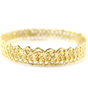 Gold plated Lace Bracelet