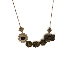 Precious Buttons Necklace