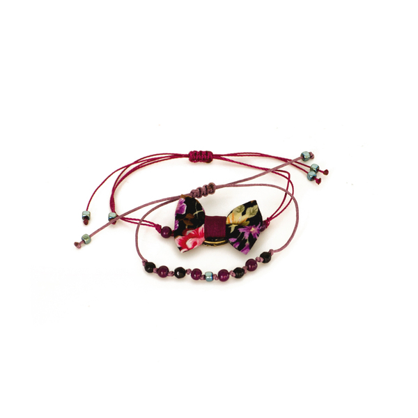 Alice Bow Bracelets Set