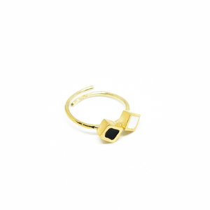 """Colors & Shapes"" II ring"