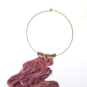 Statement Silk Necklace