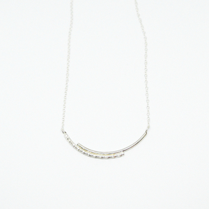 """ Dance with me "" II necklace silver"