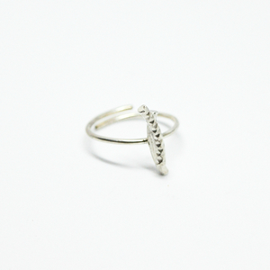 """ Dance with me "" II ring silver"