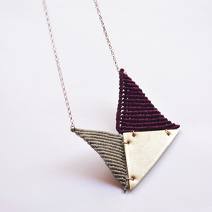 """envelope"" necklace"