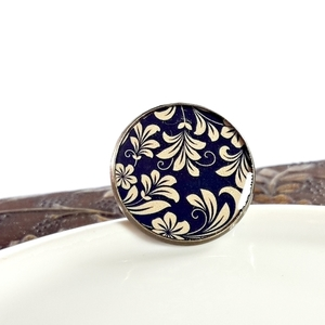 Floral Brown | Vintage ring