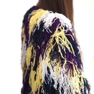 Hairy colourfull jacket