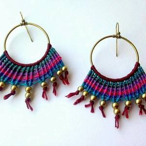 Makrame earrings