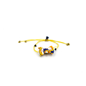Marrakesh Bow Bracelet Blue