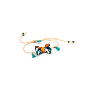 Marrakesh Bow Bracelet Petrol