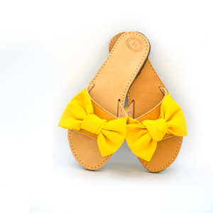 Yellow Bird Cocktail Sandals