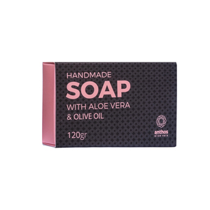 Anthos Aloe Vera Handmade Soap with Olive Oil