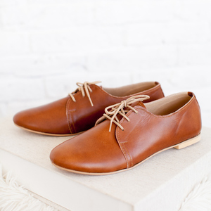 oxford shoes camel