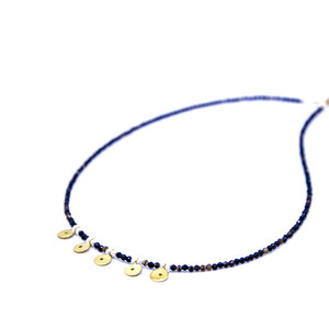 ''Golden circles'' necklace
