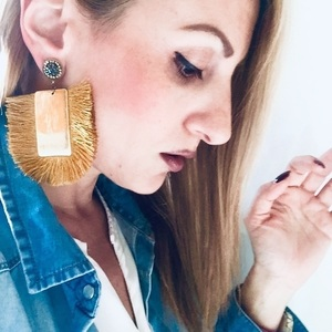 Statement fun earrings