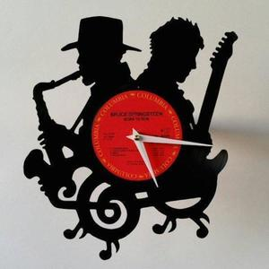 Jazz Music Vinyl Record Wall Clock