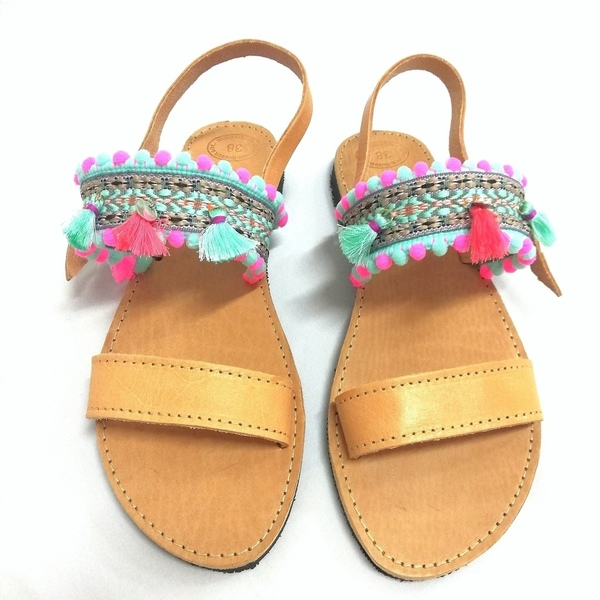 Mint dream sandals