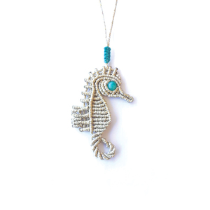 Gold Seahorse necklace!!!!