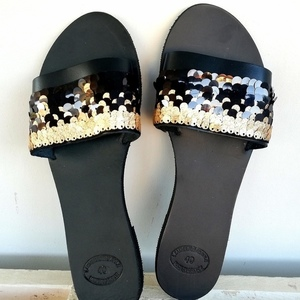 Black Beauty sandals