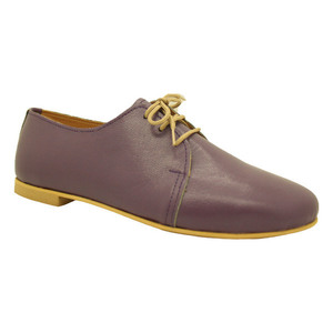 MARGO SHOES Oxfords Δέρμα Μώβ