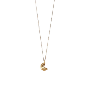 _fortune cookie necklace - lucky charm 2020 - γούρι κολιέ 2020