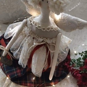 Rustic Chic Angel doll