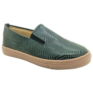 MARGO SHOES Loafers Δέρμα Τύπωμα Φίδι Κυπαρισσί