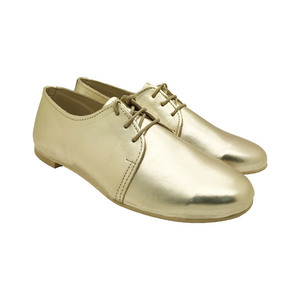 MARGO SHOES Plus Size OXFORD Δέρμα Χρυσό