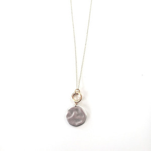 Two circles necklace