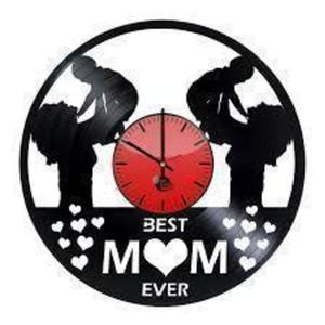 Mother's love Vinyl Records Wall Clock