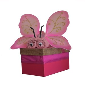 Diaper Cake (Butterfly Box)