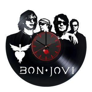 BON JOVI Vinyl Record Wall Clock