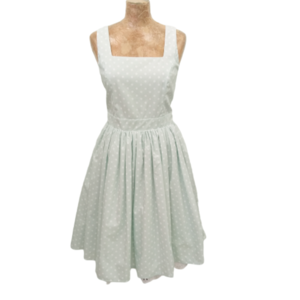 Polka mint dress