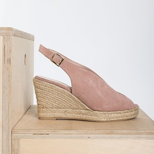 Tulip espadrilles in Nude color