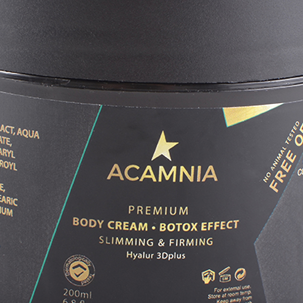 Acamnia – Slim Body cream – cellulite etxc 200ml
