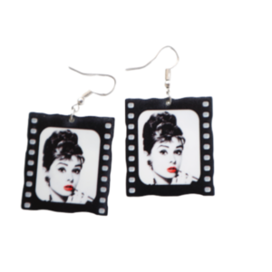 Odrey Heartburn Vintage Earrings